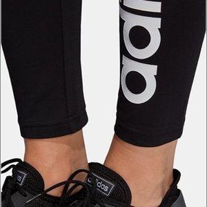 Women's Adidas  Linear-Logo Leggings